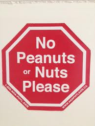 No nuts peanuts