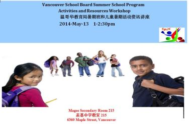 MSS VSB Summer School Parent Workshop