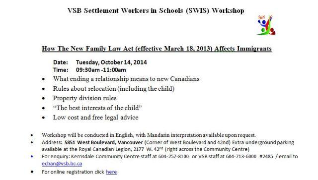 KCC parent workshop 20141021