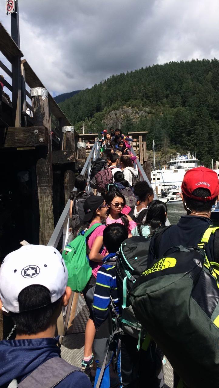 2017 Grade Six Camp Photos Maple Grove Elementary School