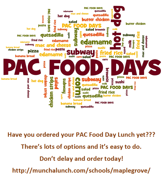 PAC food days