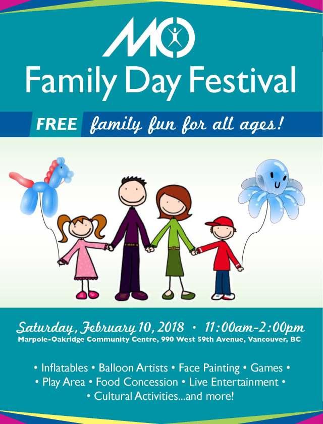 Family Day Festival Poster
