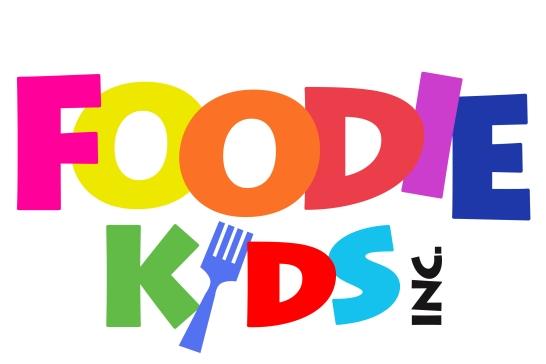 Foodie Kids Logo WHITE Updated