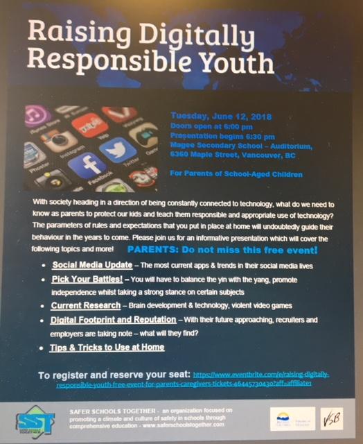 Digitally responsible