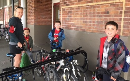 Bike to school 1