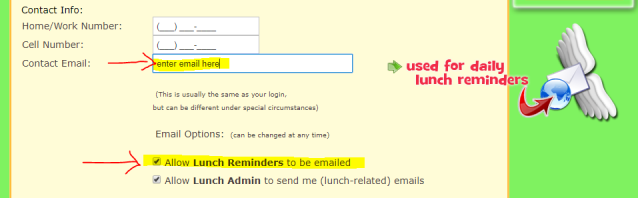 Munch Email Reminder