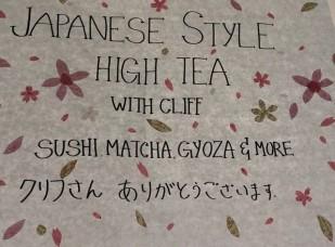 Japanese high tea 1