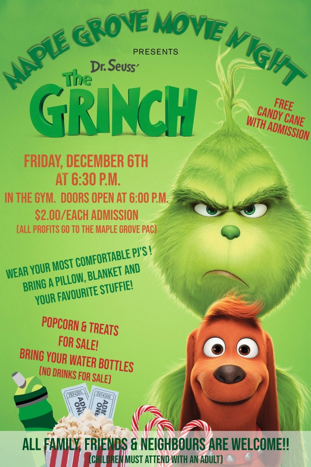 GRINCH MOVIE NIGHT POSTER (1)
